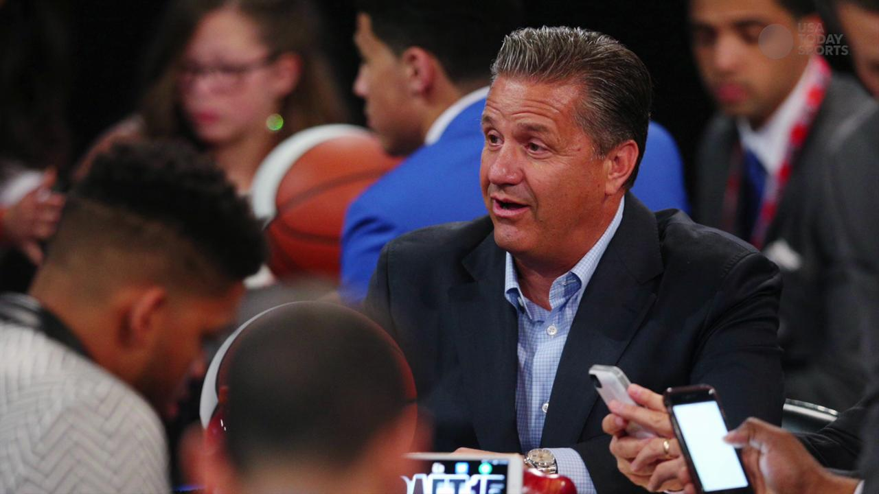 Reports: Nets courting Kentucky coach John Calipari