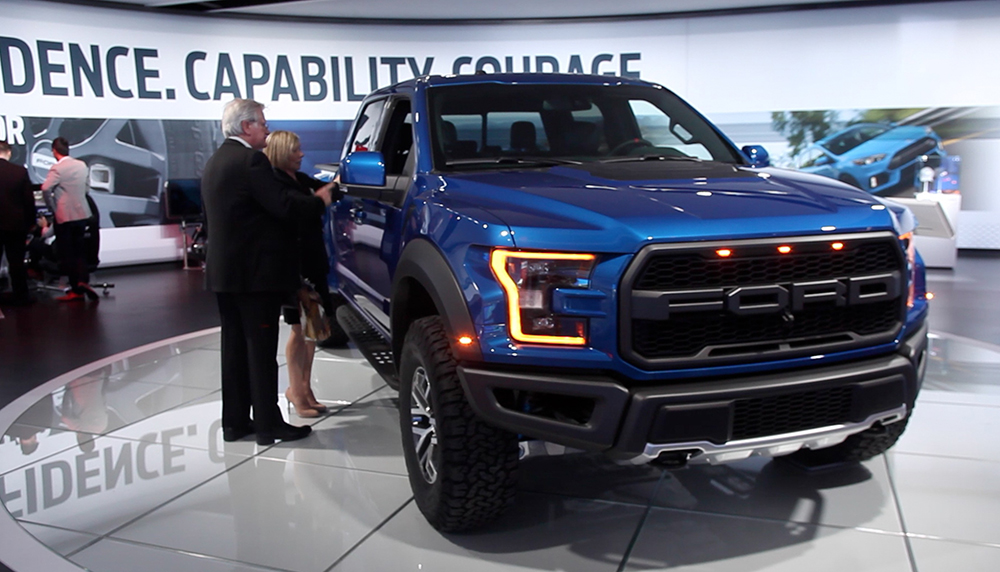 USA TODAY's Chris Woodyward breaks down two of the most rugged trucks introduced at the North American International Auto Show in Detroit.