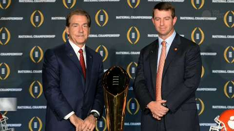 College Football Playoff championship by the numbers