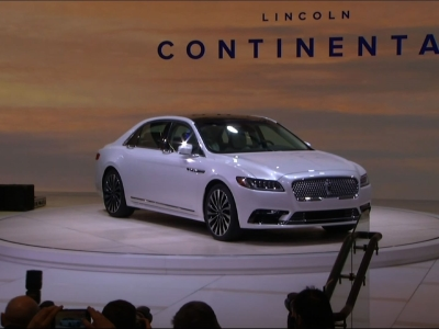 Lincoln Revives Continental, With Eye On China