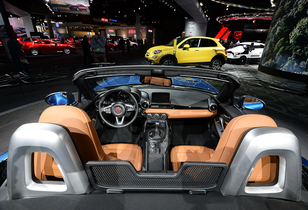 The auto show in 90 seconds