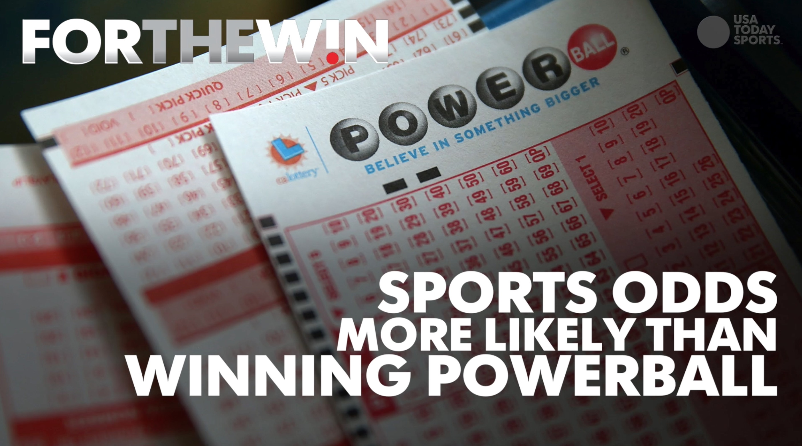 Sports odds more likely than winning Powerball