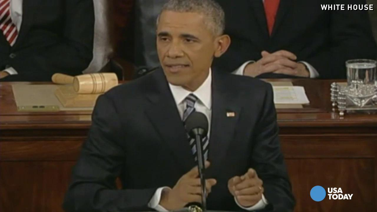 Fact check: Obama's final State of the Union speech