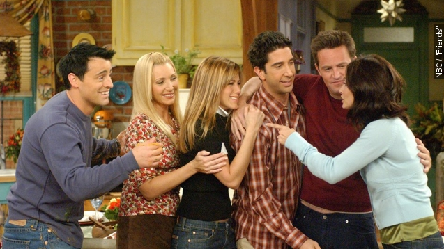 'Friends' reunion is coming to NBC. This is not a drill