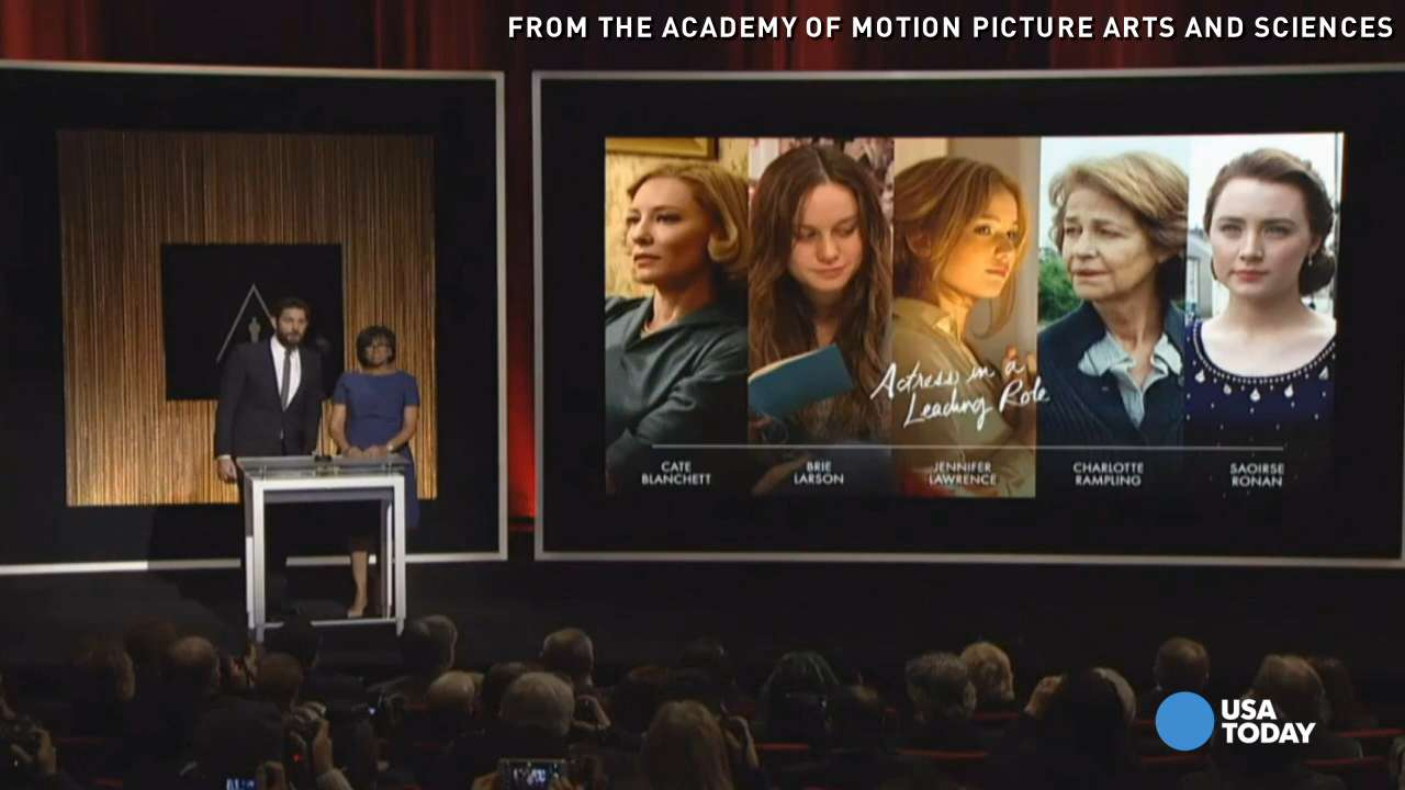 Leonardo DiCaprio, Sylvester Stallone and Jennifer Lawrence are among the nominees for this year's Academy Awards.