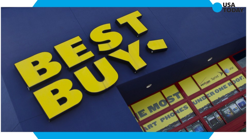 Best Buy said Thursday that sluggish sales of mobile phones contributed to a weak holiday shopping performance.