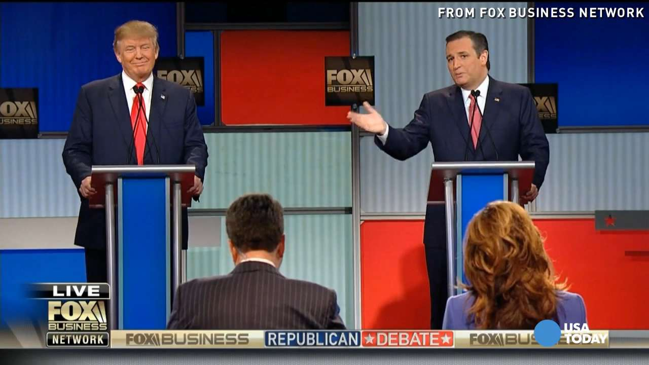 GOP candidates slam one another at Fox Business debate