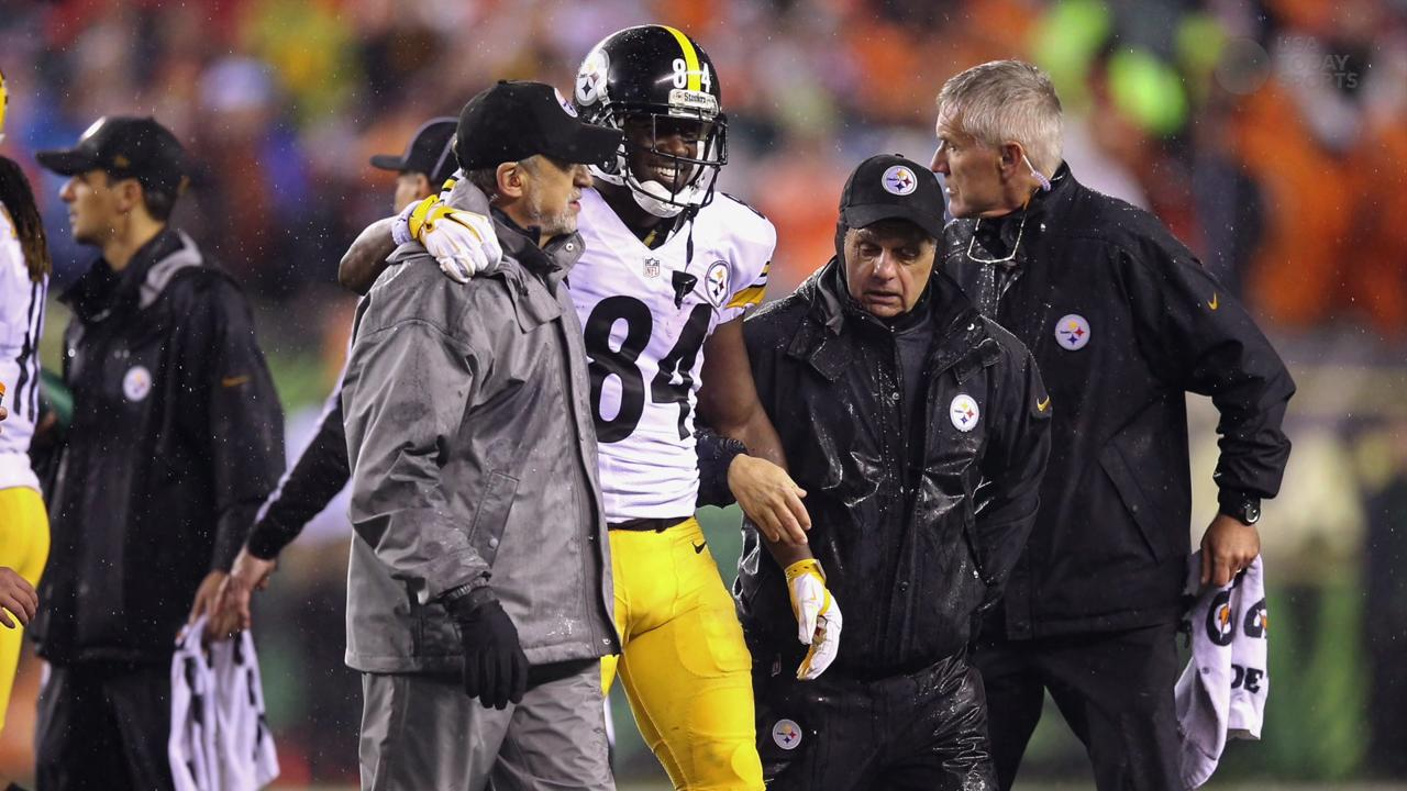 Steelers WR Antonio Brown ruled out vs. Broncos