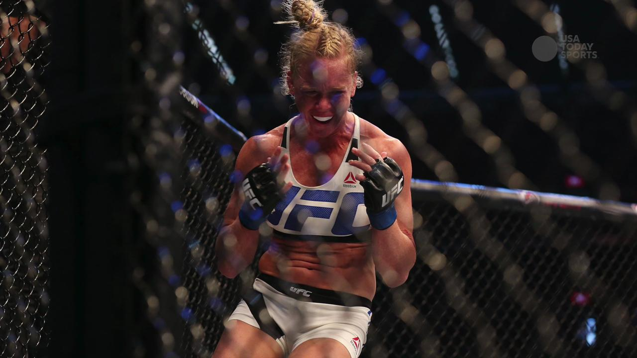 Holly Holm has inked a two-year deal to endorse Hi-Tech Pharmaceuticals, a supplement maker that sells products banned from UFC.