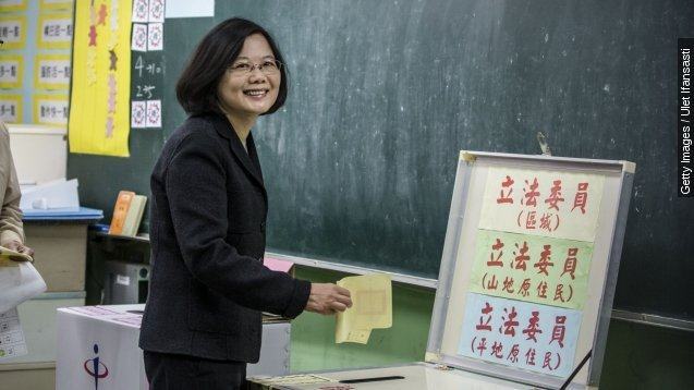 Change possible, not guaranteed with Taiwan's first female president