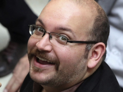 Jason Rezaian, right, an Iranian-American correspondent for the Washington Post, and his wife Yeganeh Salehi, an Iranian correspondent for the Abu Dhabi-based daily newspaper, The National. Rezaian was detained in Tehran on July 22, 2014 along with Salehi, and two photojournalists.