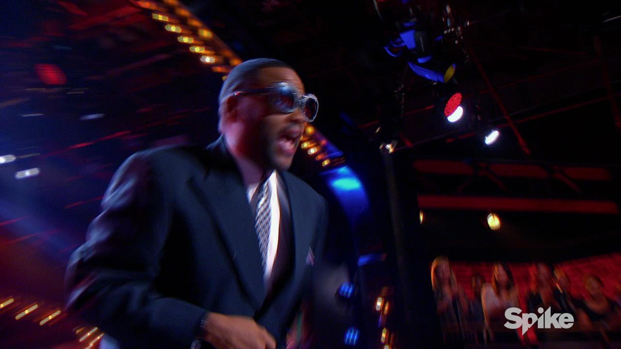 Watch 'Black-ish' star Anthony Anderson channel Cee-Lo in this exclusive clip from 'Lip Sync Battle.' He'll battle his TV wife, Tracee Ellis Ross Thursday, Jan. 21.
