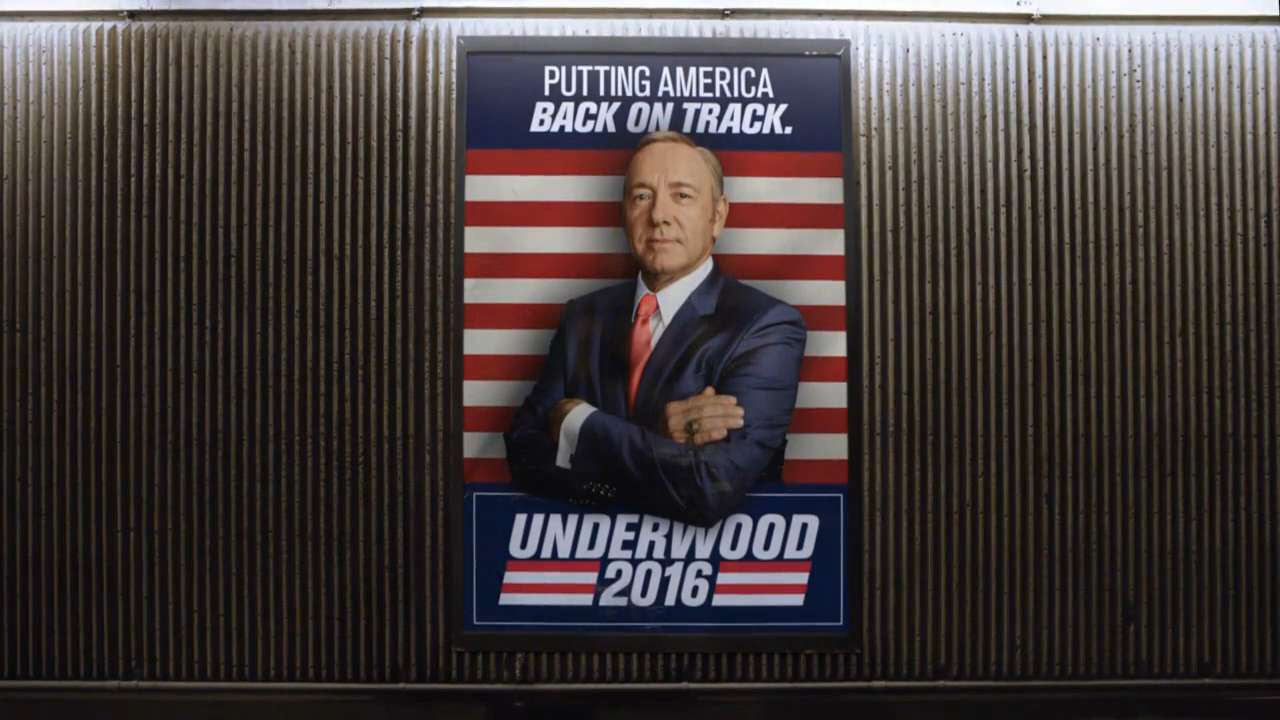 Kevin Spacey reprises his role as U.S. Rep. Francis Underwood in Season 4 of 'House of Cards,' which debuts March 4th on Netflix.