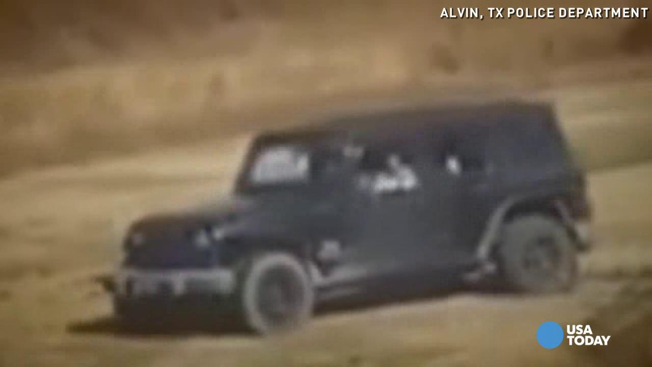The driver of a jeep caught doing multiple donuts and destroying the grass of a local park is now wanted by police.