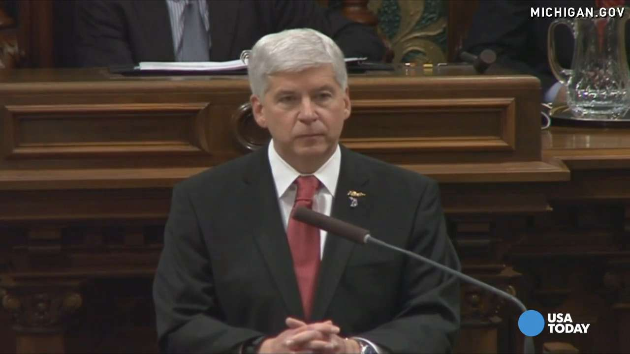 Gov. Snyder outlines plan to fix Flint's water crisis