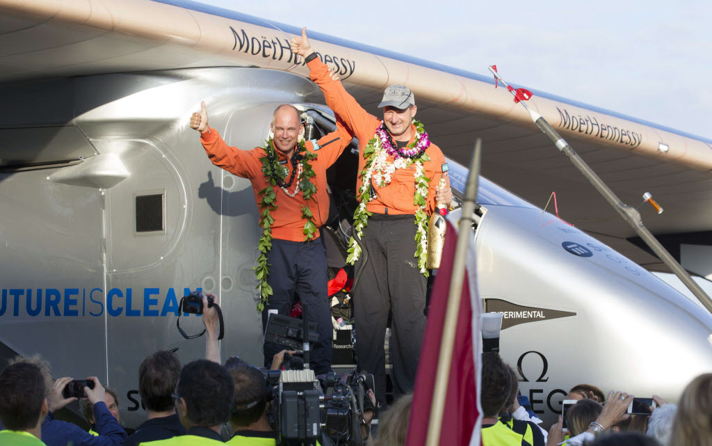 Solar Impulse pilot on energy innovation