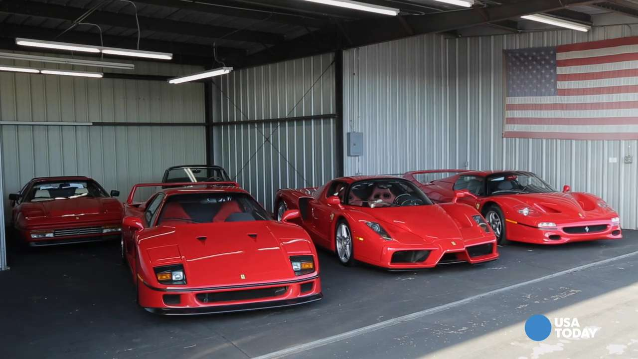 Tony Shooshani of Beverly Hills, a developer, has put his eight Ferraris up for auction -- to make room for more.