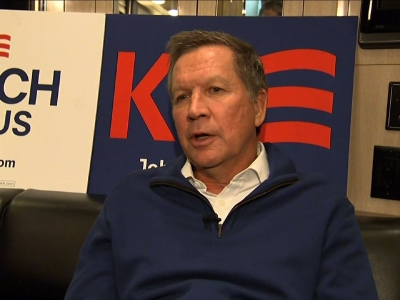 Kasich Bets on Voter Optimism, Not Anger in 2016
