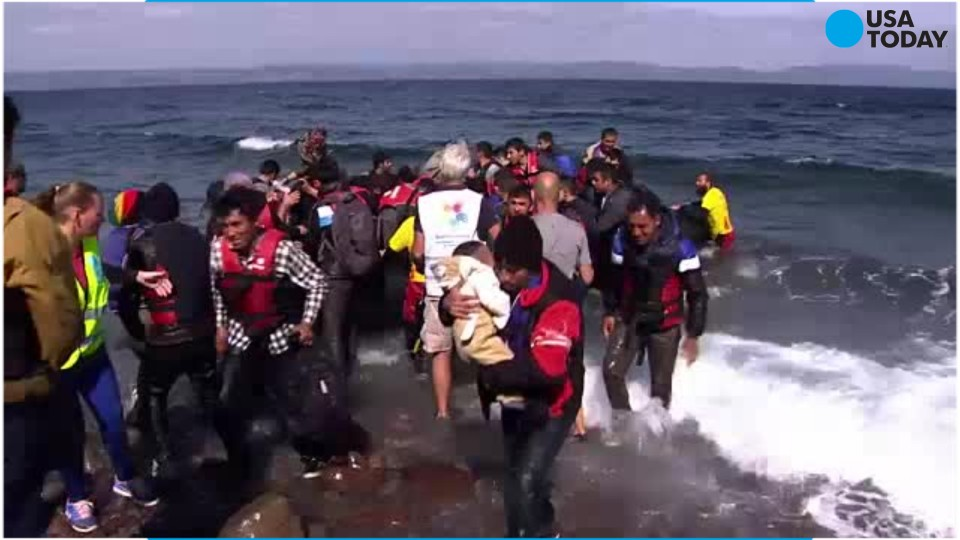 Early Friday morning, several dozen people drowned as two refugee boats sank off the coast of Greece overnight.