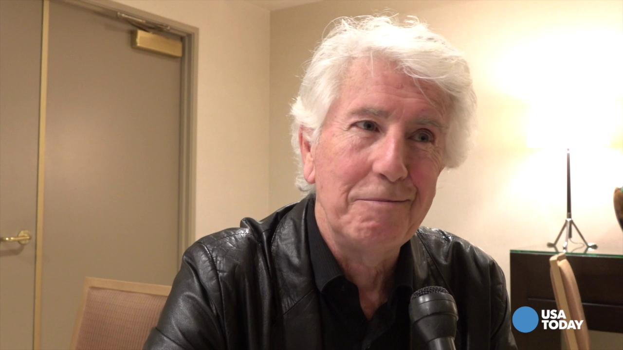 Musician Graham Nash is about to release a new album at age 74, following his recent split from 38 years of marriage. He talks his new outlook, and reflects on the deaths of David Bowie and Glenn Frey.