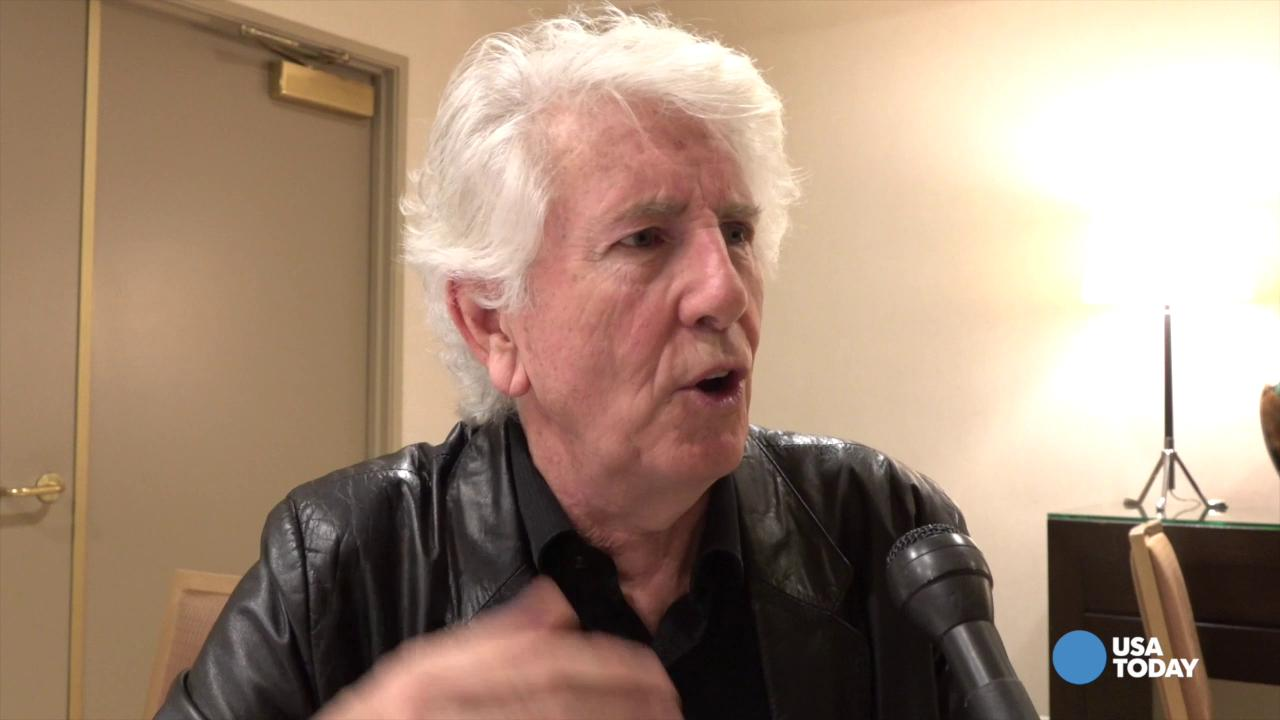 Why Graham Nash doesn't like smartphone photos