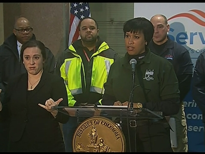 DC Mayor Urges People to Stay Home
