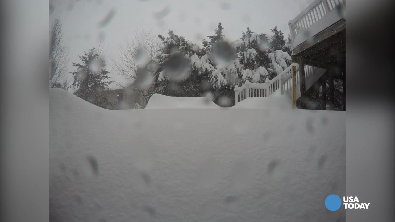 Watch 30 inches of snow fall in 30 seconds