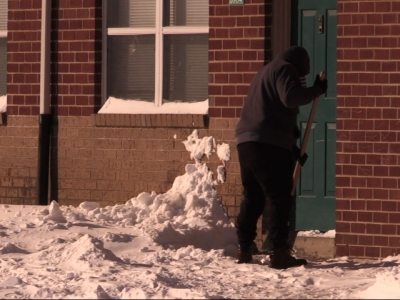 Philly Residents Dig Out of East Coast Snowstorm