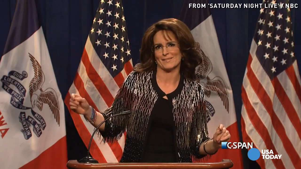 Tina Fey as Sarah Palin makes 'SNL' great again