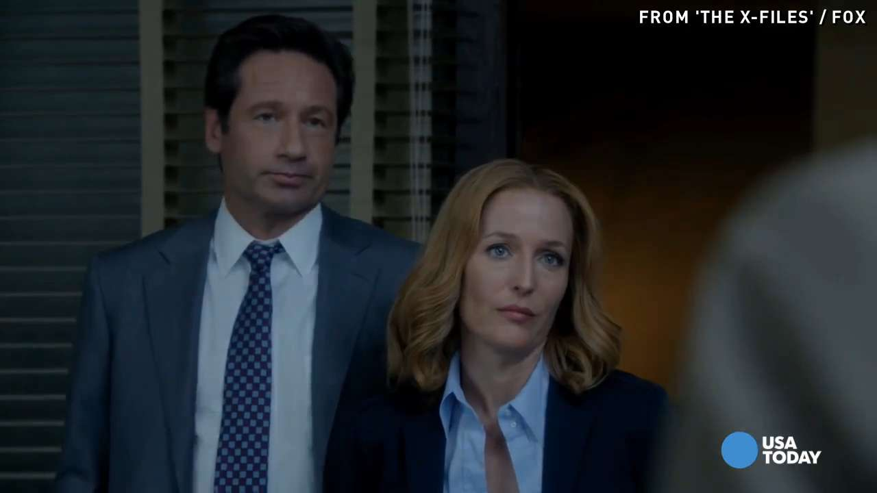 "USA TODAY's Robert Bianco previews ""The X-Files,"" which returns to Fox after going off air in 2002, for Monday, January 25."