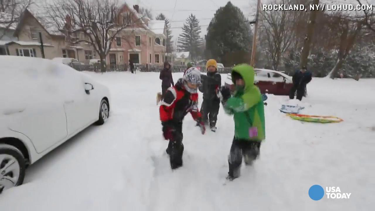 Winter Storm Jonas made for an epic snow day