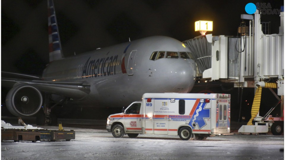 Seven people were injured after severe turbulence hit an American Airlines Boeing 767 flying from Miami to Milan late Sunday. The aircraft diverted to St. John's, Newfoundland, where it was met by paramedics.
