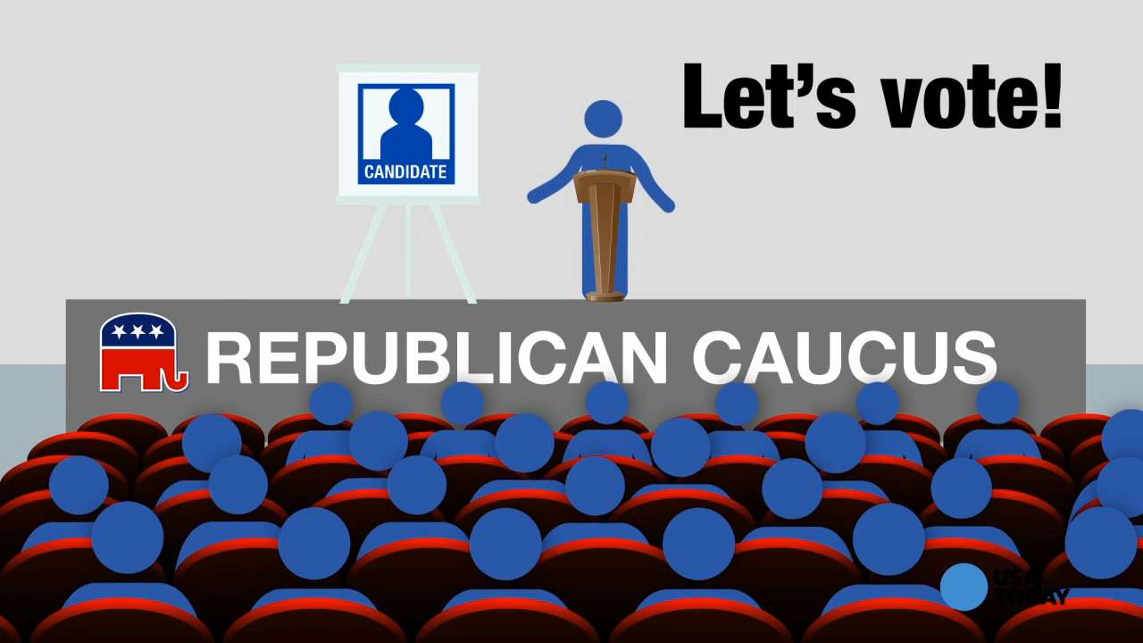 Learn how caucuses work in under a minute