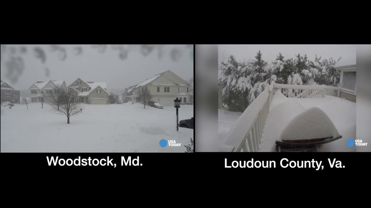The 5 best timelapse videos from the storm