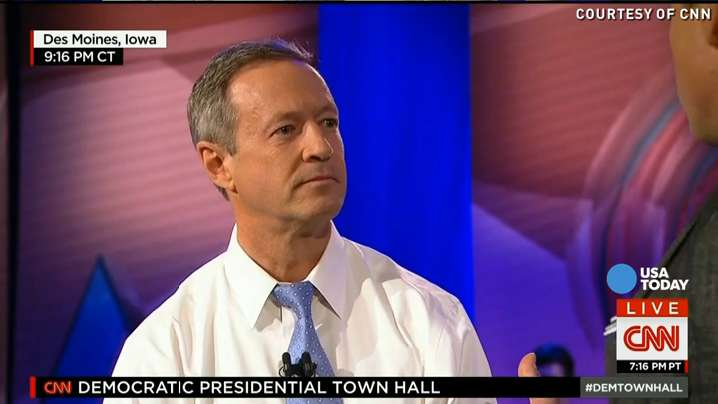 O'Malley to supporters: 'Hold strong' at your caucus