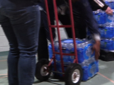 Water Donations Continue to Roll Into Flint