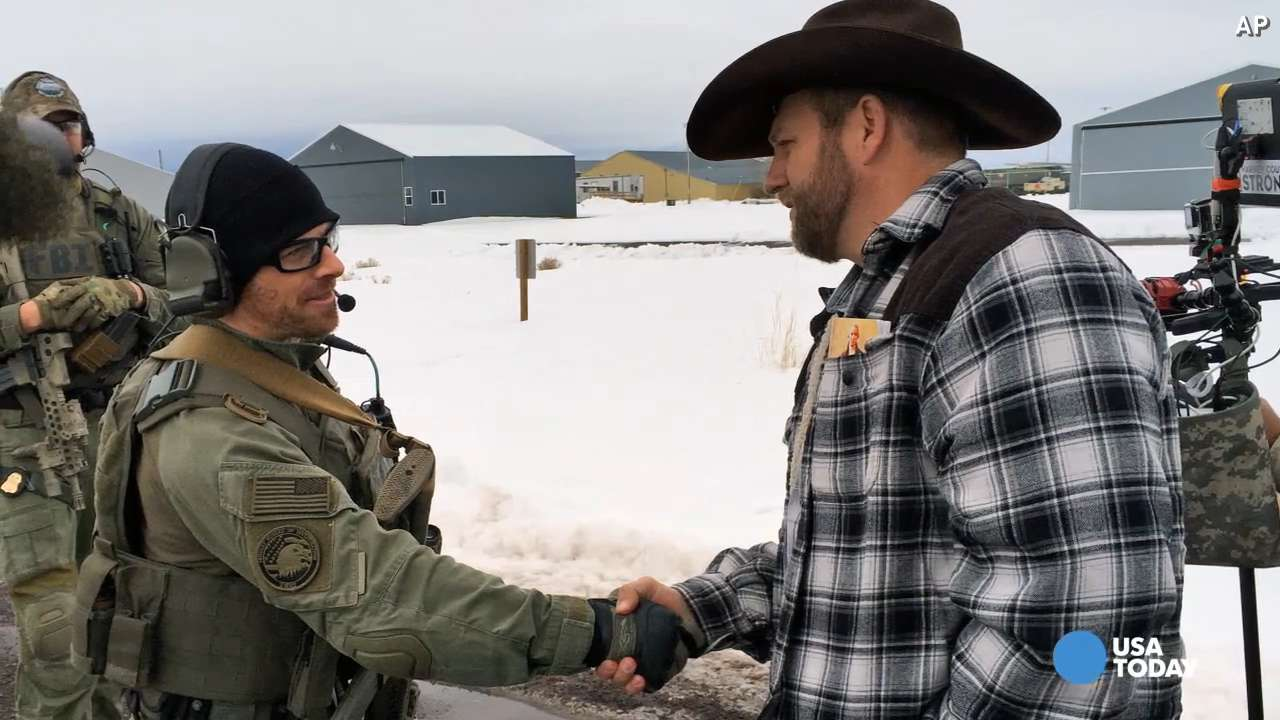 Reports: Militia group leader Ammon Bundy arrested