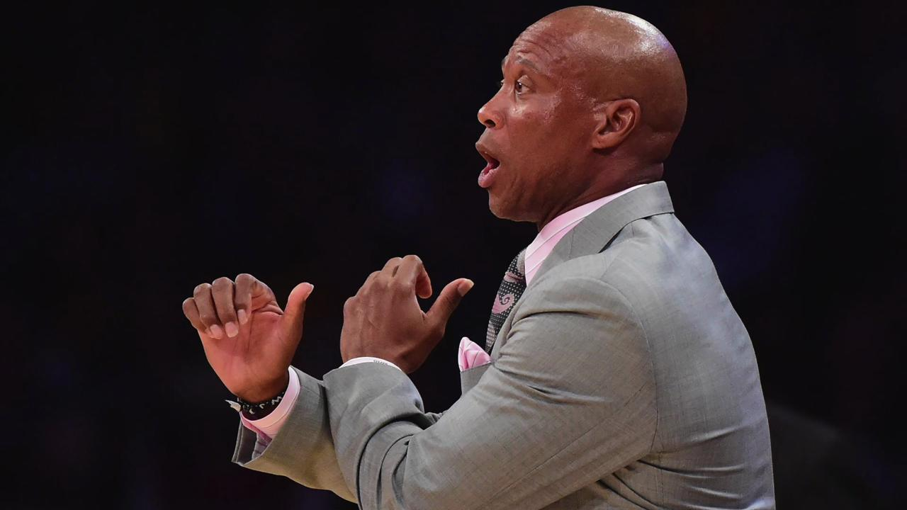 Los Angeles Lakers head coach Byron Scott claims the threatening remarks made towards a fan on his Instagram were not made by him.
