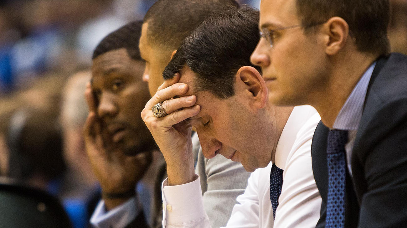 Following a national championship last year, Duke is having a surprisingly poor season.