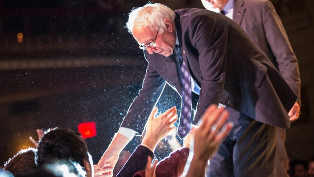 Bernie Sanders isn't actively involved with organized religion