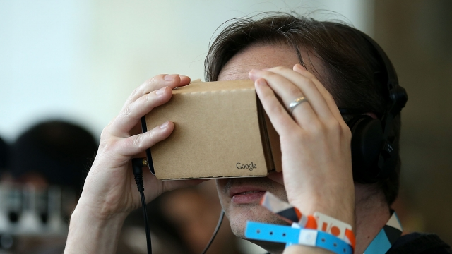 Google's cardboard virtual headset seems like a hit