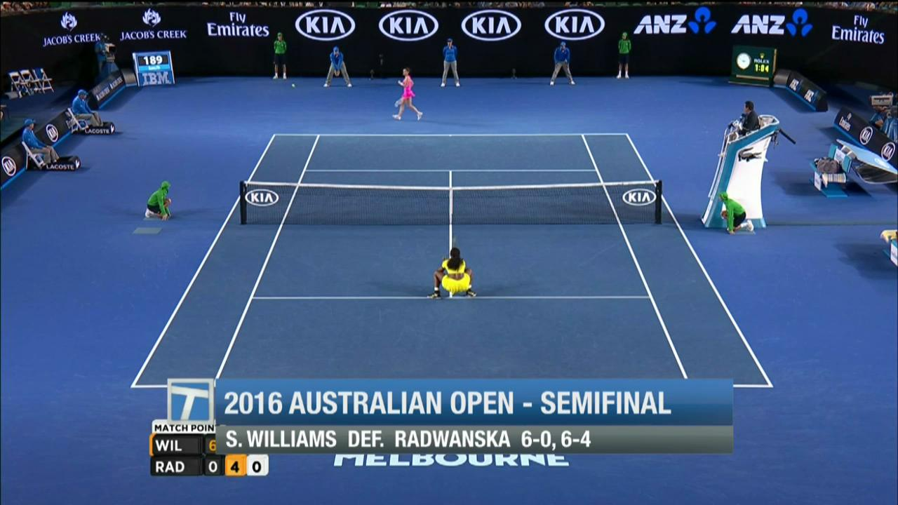 Tennis Channel breaks down the women's Australian Open semifinals matches.