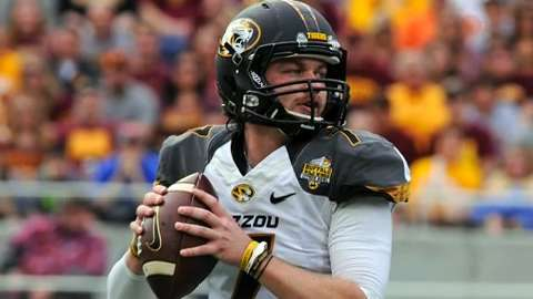 Missouri QB Maty Mauk was dismissed from the program for multiple violations of team rules.