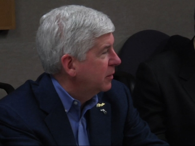 Gov. Meets Flint Pastors Concerned About Lead