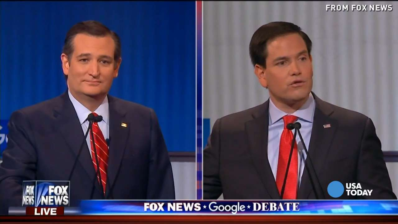 Plenty of zingers from GOP debate without Trump's help