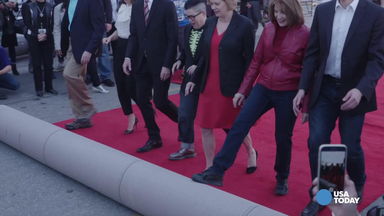 Red carpet rolled out for 22nd SAG Awards