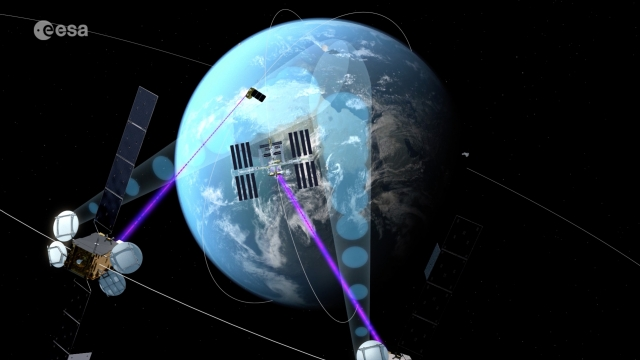 Super-fast space laser satellites could help save lives on earth