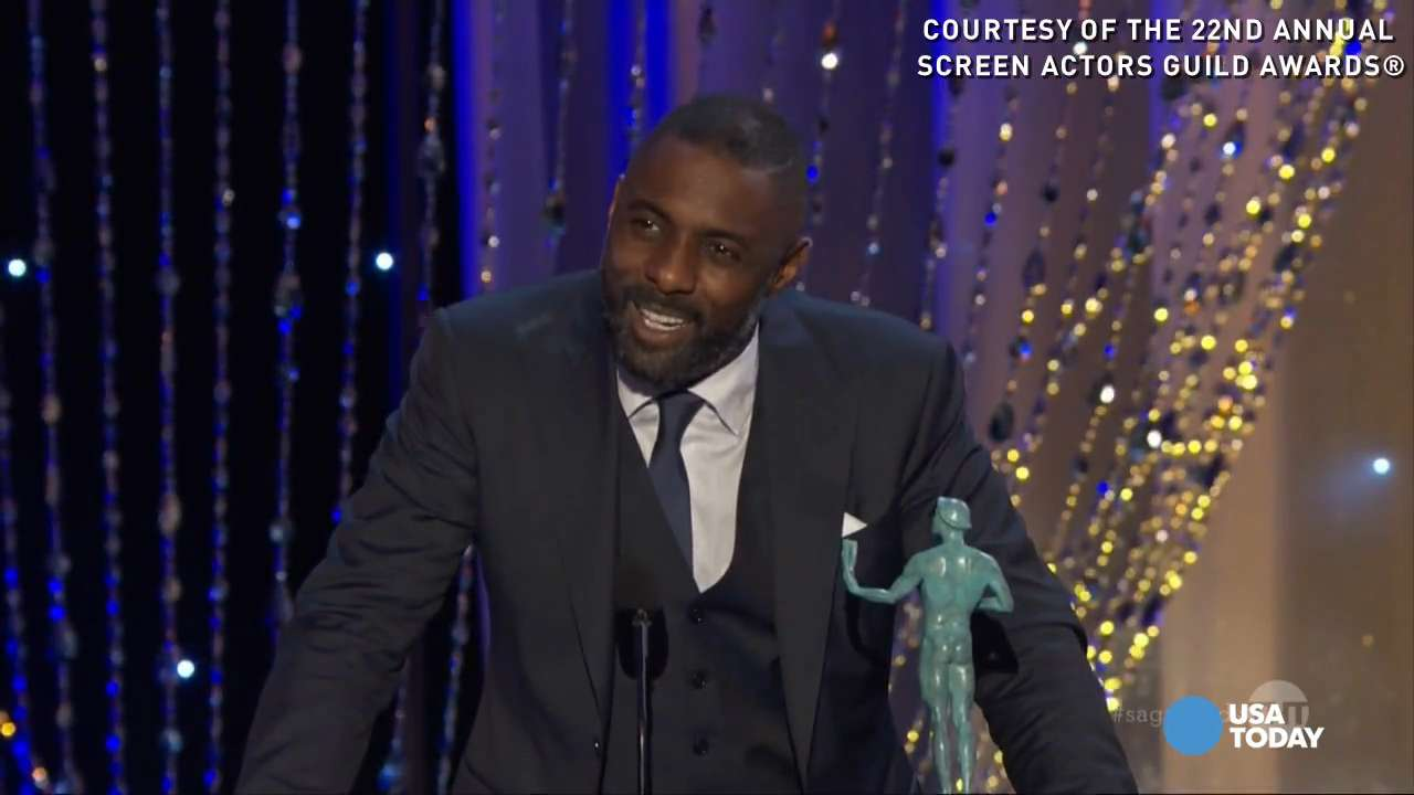 At the 22nd annual Screen Actors Guild Awards, Idris Elba won awards for both outstanding male actor in a supporting role in a motion picture for 'Beasts of No Nation,' as well as male actor in a TV movie or miniseries for 'Luther.'