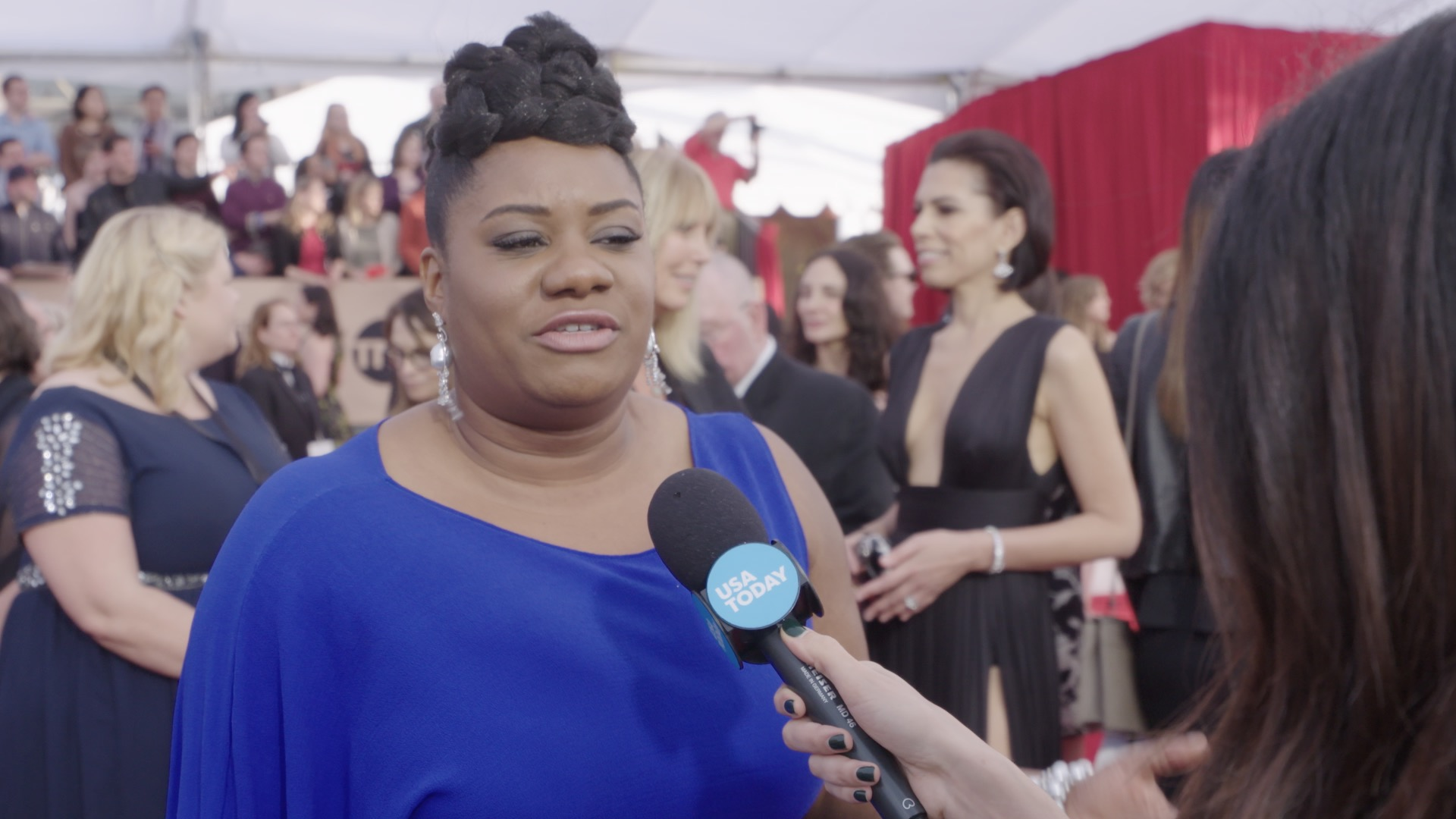 Stars at SAG Awards discuss diversity