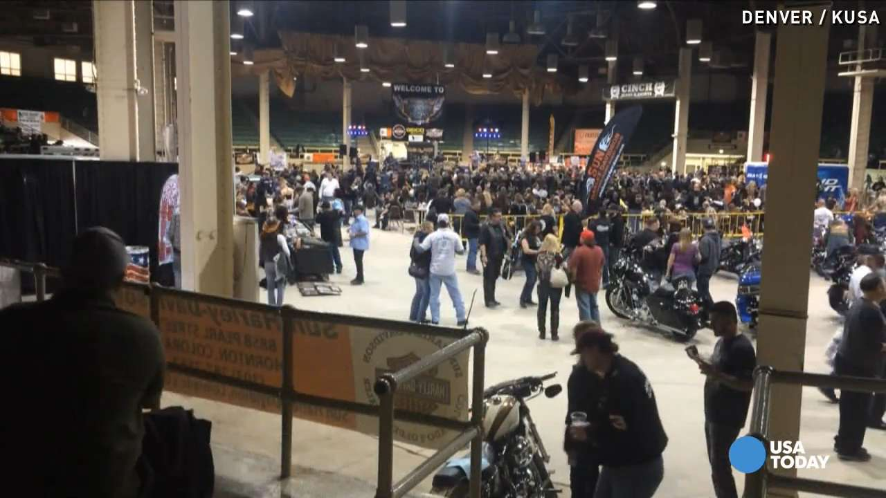 Deadly gunfire erupts at motorcycle expo